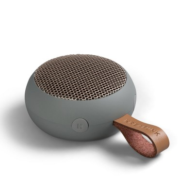 Kreafunk aGo Bluetooth Speaker - Cool Grey / Rose Gold