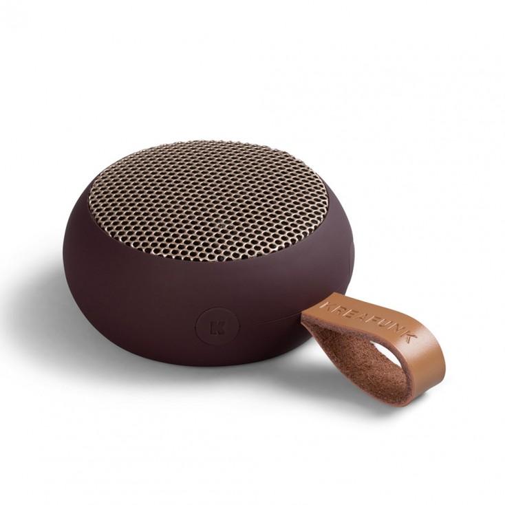 Kreafunk aGo Bluetooth Speaker - Plum / Rose Gold