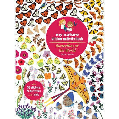 Butterflies Of The World Sticker Activity Book