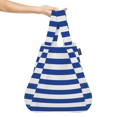 Notabag Transforming Tote - Marine Stripes