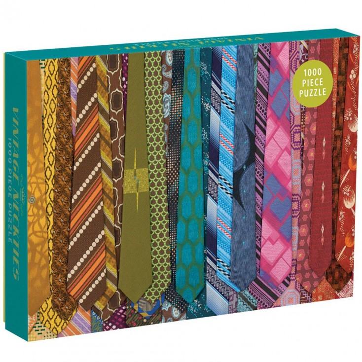 Vintage Neckties 1000 Piece Puzzle