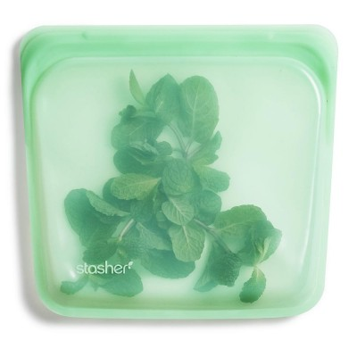 Stasher Silicone Sandwich Bag - Mint