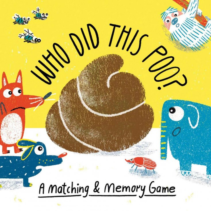 Who Did This Poo? Memory & Matching Game