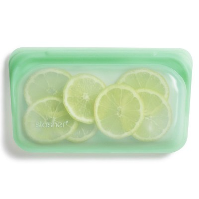 Stasher Silicone Snack Bag - Mint