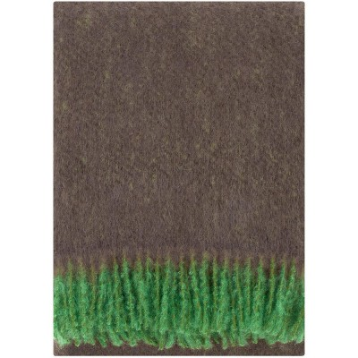 Lapuan Kankurit Revontuli Mohair Blanket - Brown & Green