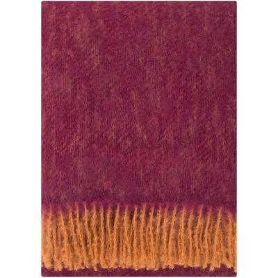 Lapuan Kankurit Revontuli Mohair Blanket - Rust & Bordeaux