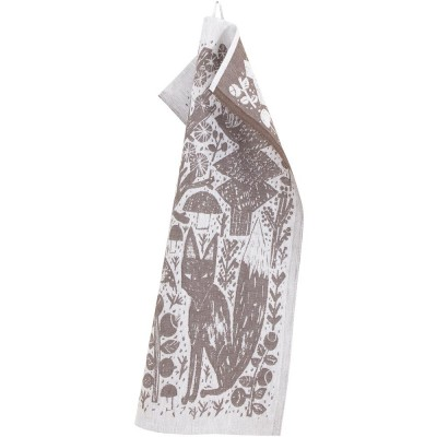 Lapuan Kankurit Metsikkö Tea Towel - Brown