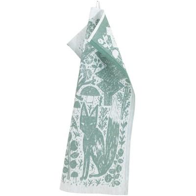 Lapuan Kankurit Metsikkö Tea Towel - Aspen Green