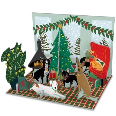 Roger la Borde Fireside Dogs Pop & Slot Decoration