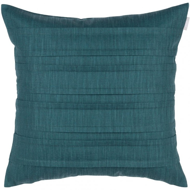 Spira Pleat Cushion Cover - Petrol Green