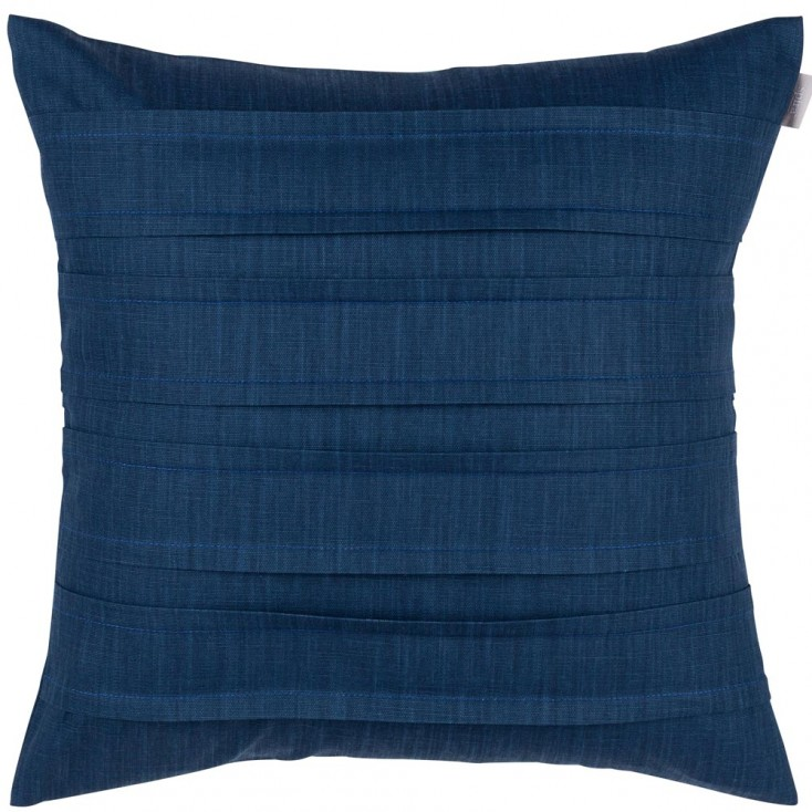 Spira Pleat Cushion Cover - Marine Blue
