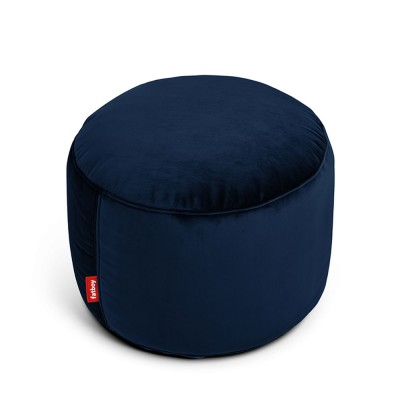 Fatboy Velvet Point Pouf - Dark Blue