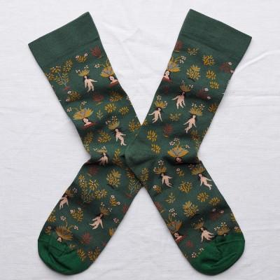 Bonne Maison Socks - Spruce Mandrake