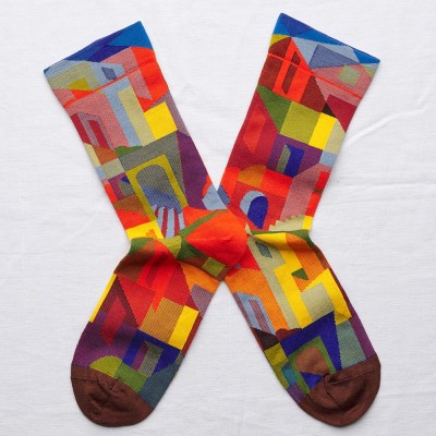 Bonne Maison Socks - Multi City