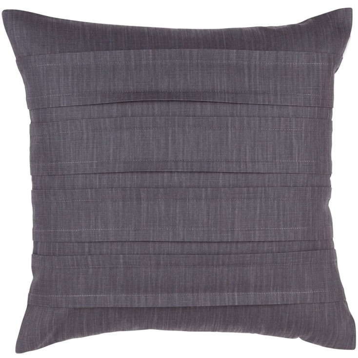 Spira Pleat Cushion Cover - Grey