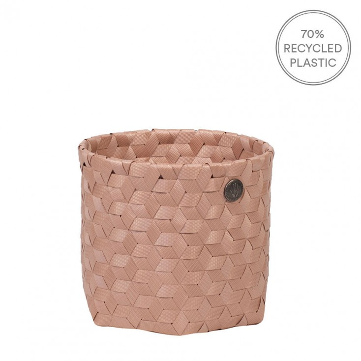 Handed By Dimensional Basket Mini - Copper Blush
