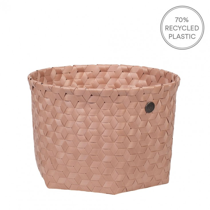 Handed By Small Dimensional Basket - Copper Blush