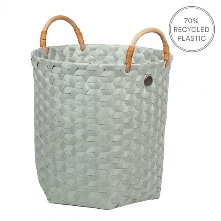Handed By Dimensional Basket With Handles - Eucalyptus