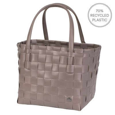 Handed By Colour Match Shopper - Stone Brown