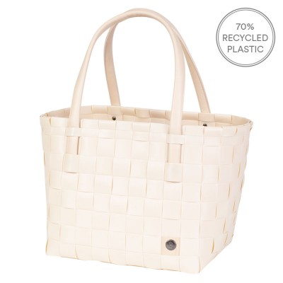 Handed By Colour Match Shopper - Ecru White