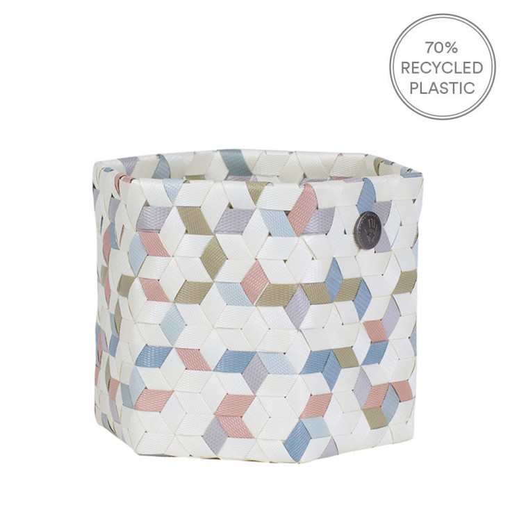 Handed By Small Terrazzo Basket