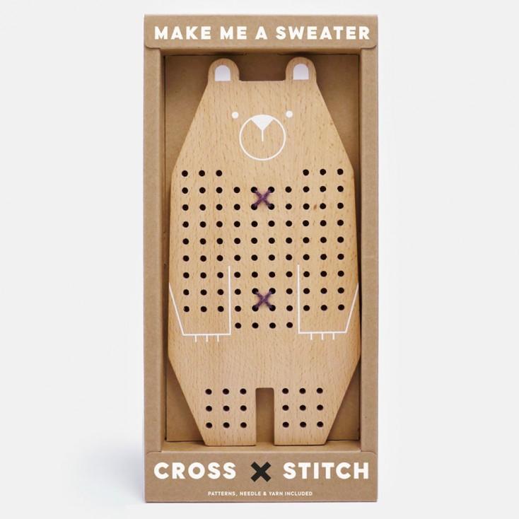 Cross Stitch Friend - Bear