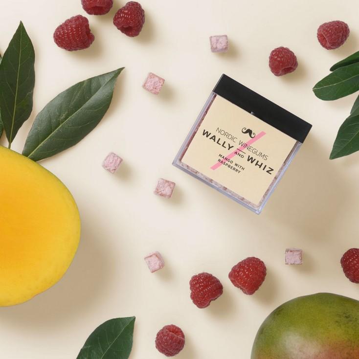 Wally & Whiz Nordic Wine Gums - Mango with Raspberries