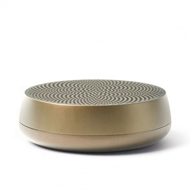 Lexon MINO L Pairable Bluetooth Speaker - Light Gold