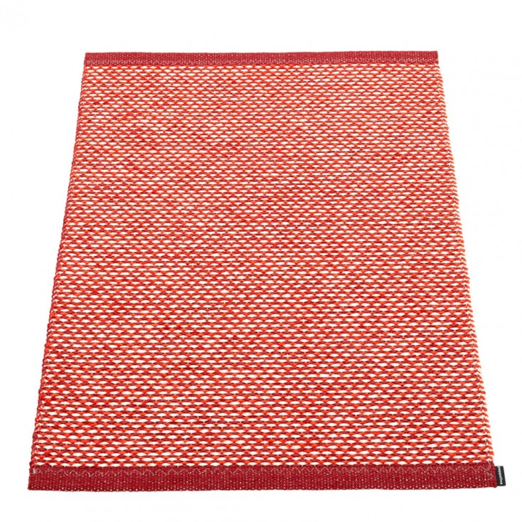 Pappelina Effi Small Mat - Dark Red