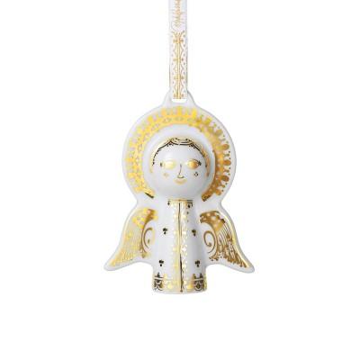 Bjørn Wiinblad Gold Angel Decoration