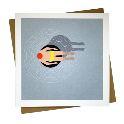 Rubber Ring Greeting Card