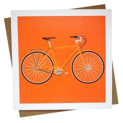 Orange Cruiser Greeting Card
