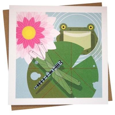 Damsel In Distress Greeting Card