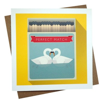 Perfect Matches Greeting Card