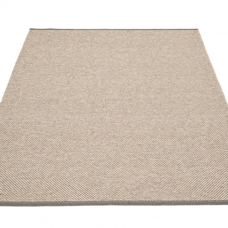 Pappelina Effi Large Rug - Charcoal