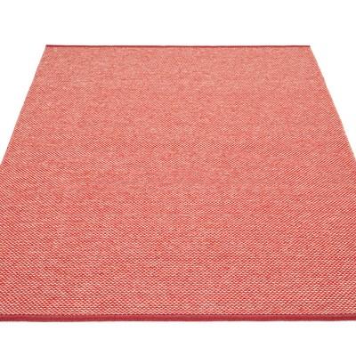 Pappelina Effi Large Rug - Dark Red