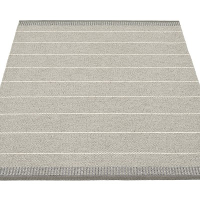Pappelina Belle Large Rug - Concrete