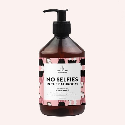 No Selfies In The Bathroom Hand Soap - The Gift Label