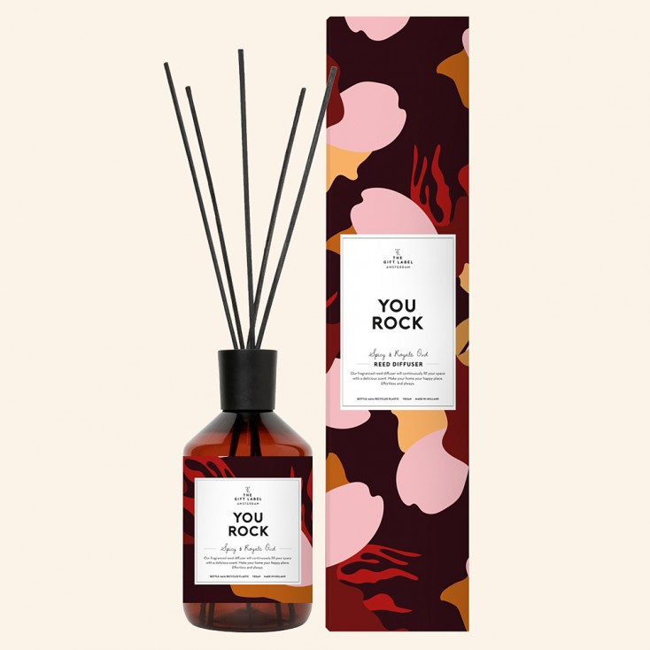 You Rock Reed Diffuser - The Gift Label