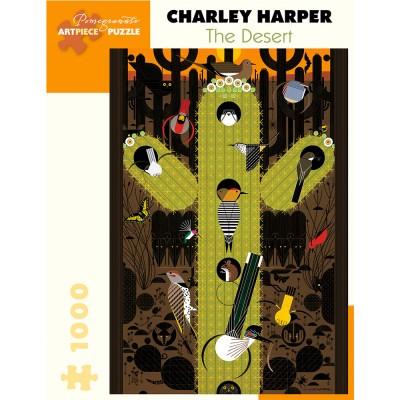 Pomegranate Charley Harper The Desert 1000 Piece Jigsaw Puzzle
