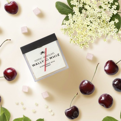Wally & Whiz Nordic Wine Gums - Elderflower & Cherry