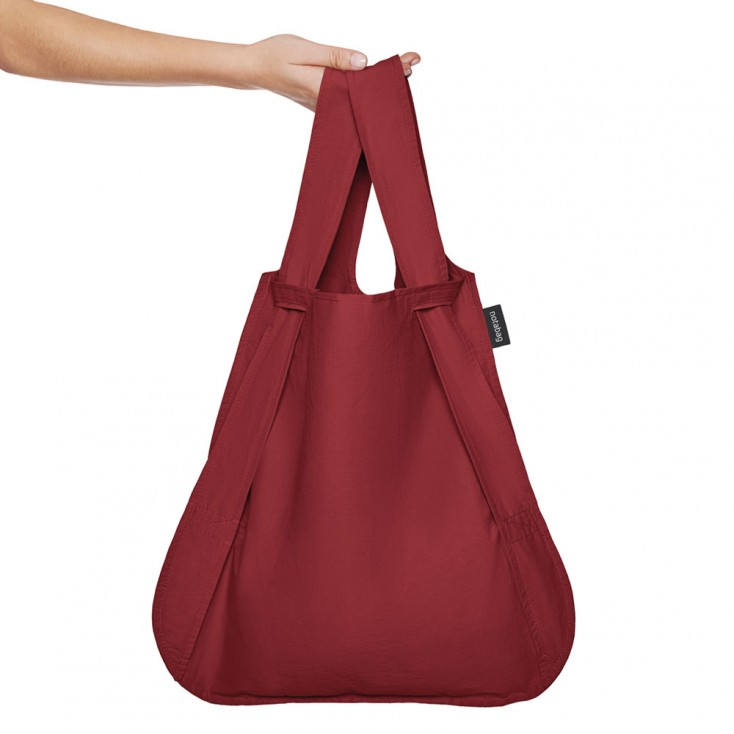 Notabag Transforming Tote - Wine Red
