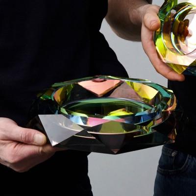 Fundamental Berlin Regenbogen Crystal Dish - Large