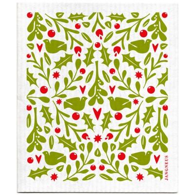 Jangneus Dishcloth - Green Holly
