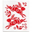 Jangneus Dishcloth - Red Hare