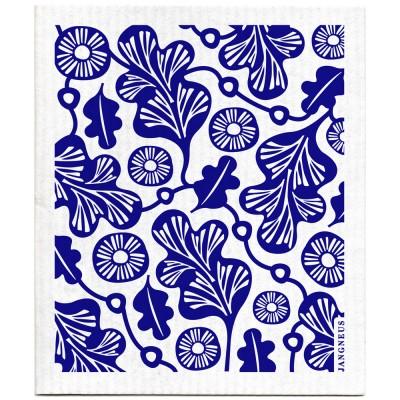 Jangneus Dishcloth - Blue Oak Leaf