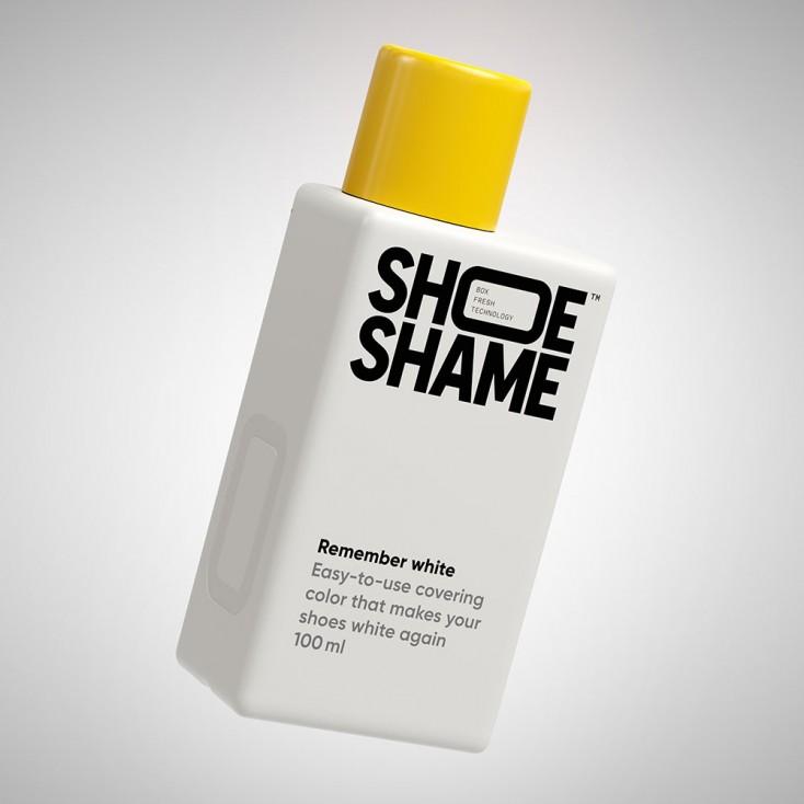 Shoe Shame Remember White Covering Colour