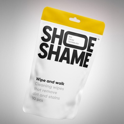Shoe Shame Wipe And Walk Cleaning Wipes