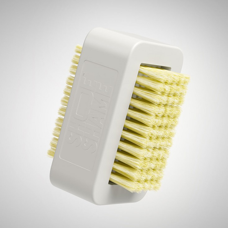 Shoe Shame Brush It Off Shoe Cleaning Brush