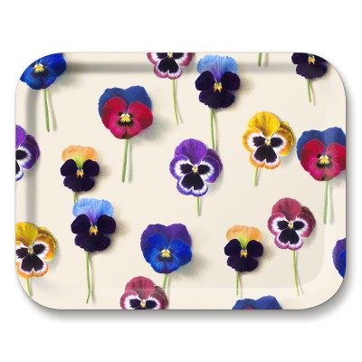 Michael Angove Pansy Medium Tray By Jamida